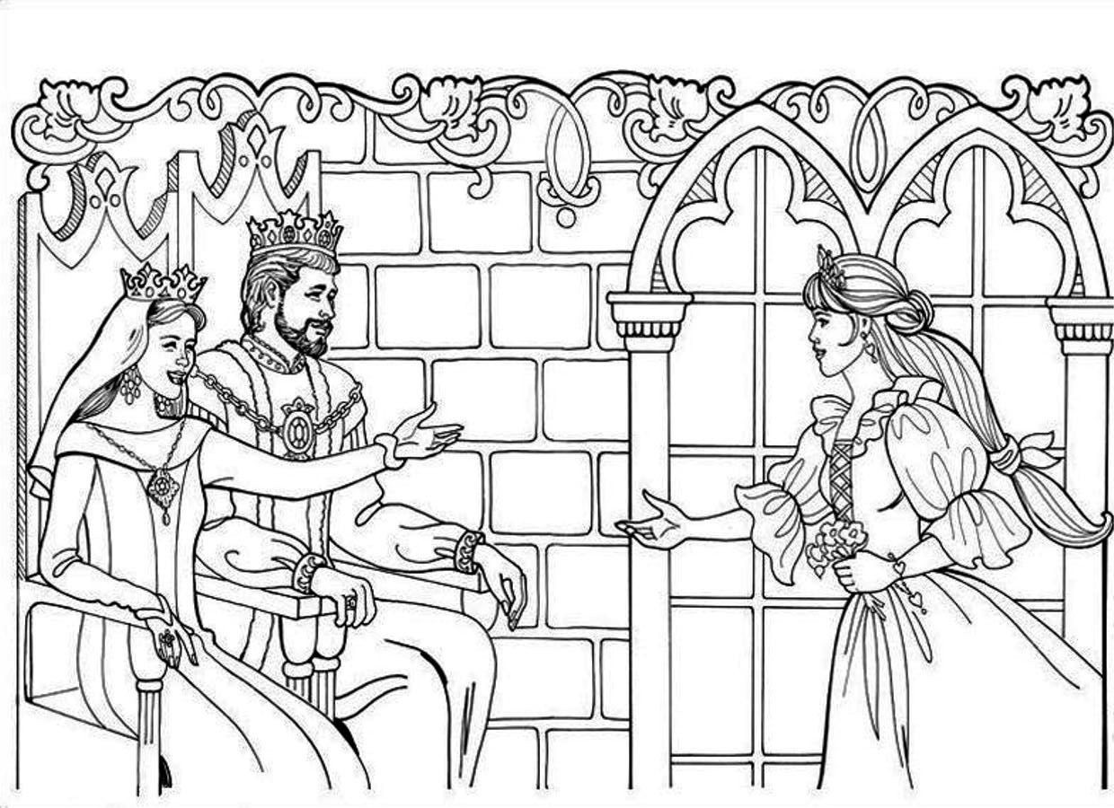1240x900 Family Coloring Pages Awesome King And Queen Coloring Pages