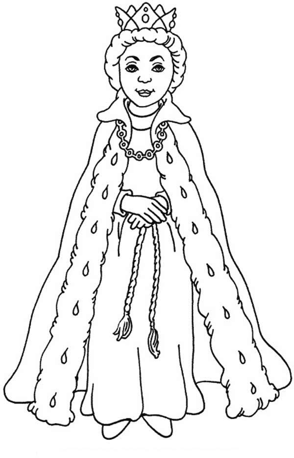 600x933 Opulent Ideas Queen Coloring Pages Extraordinary Page