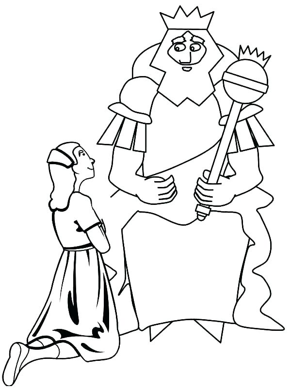 600x801 Queen Esther Coloring Page Queen Coloring Pages Queen Coloring