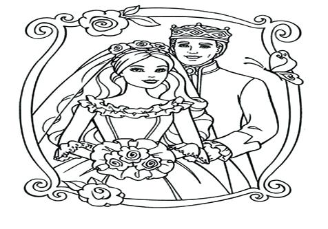 476x333 Wedding Day Coloring Pages Coloring Trend Medium Size Wedding