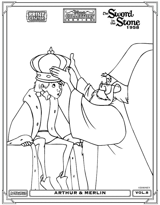 King Arthur Coloring Pages