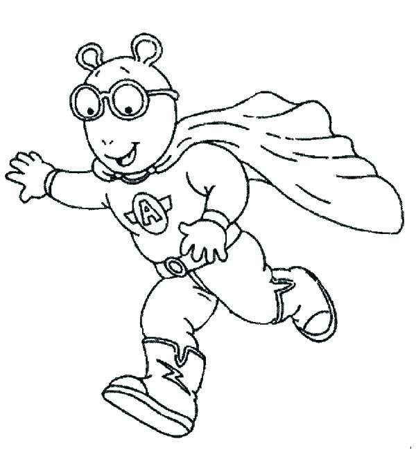 600x686 Arthur Coloring Pages Coloring Page Top Rated Coloring Pages