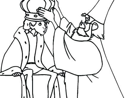 440x330 King Arthur Coloring Pages King Coloring Pages Sword