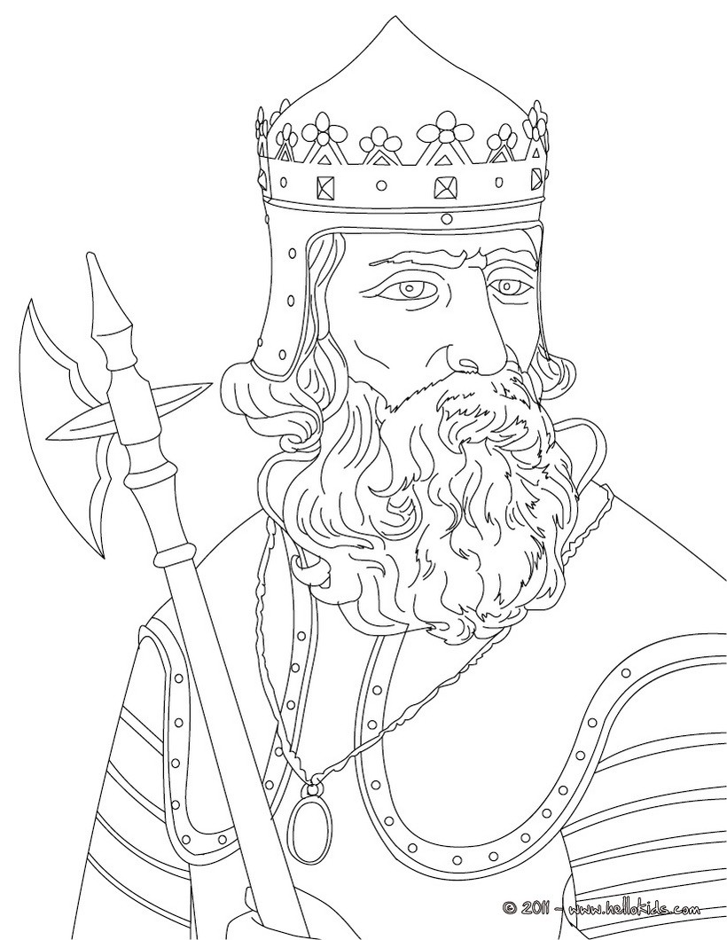 820x1060 King Robert The Bruce Coloring Pages