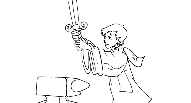 King Arthur Coloring Pages At Getdrawings Com Free For Personal