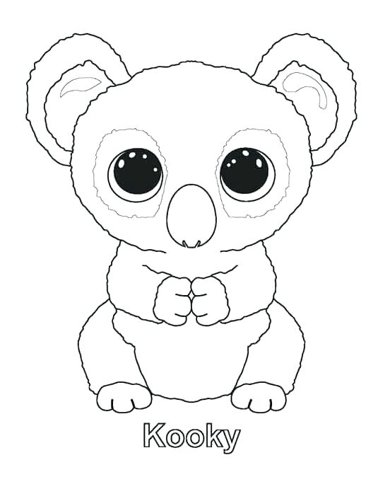 552x674 Beanie Boo Coloring Pages In Addition To Beanie Boo Unicorn Beanie