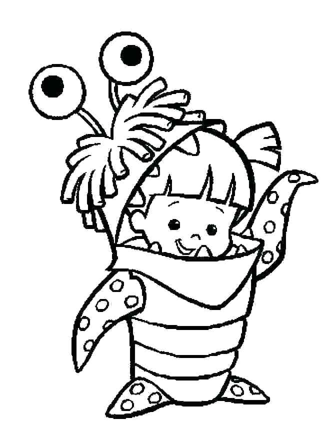 650x850 Sully Monsters Inc Coloring Page King Boo Coloring Pages Monsters