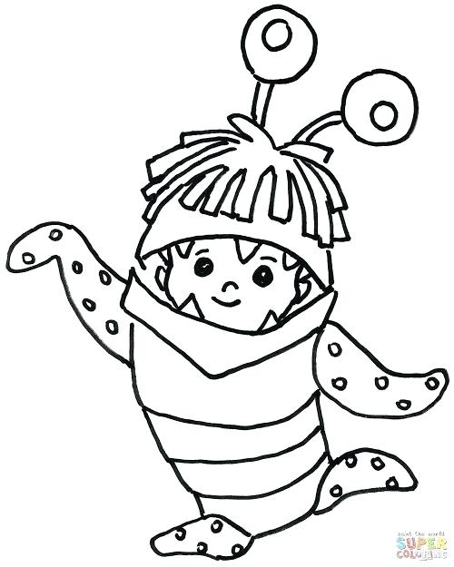 500x625 Best Monsters Inc Coloring Pages Photos Monsters Inc Coloring