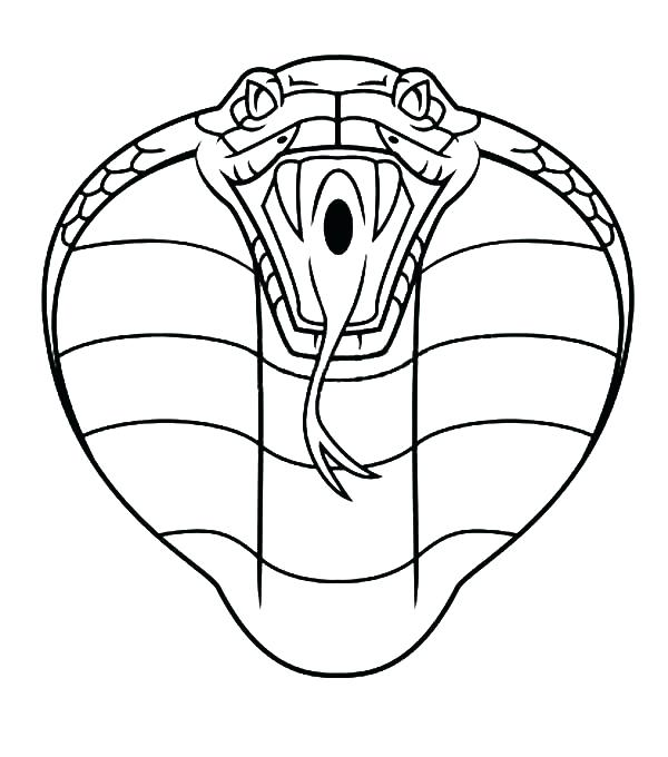600x680 King Cobra Coloring Pages Home Improvement Loan Rates