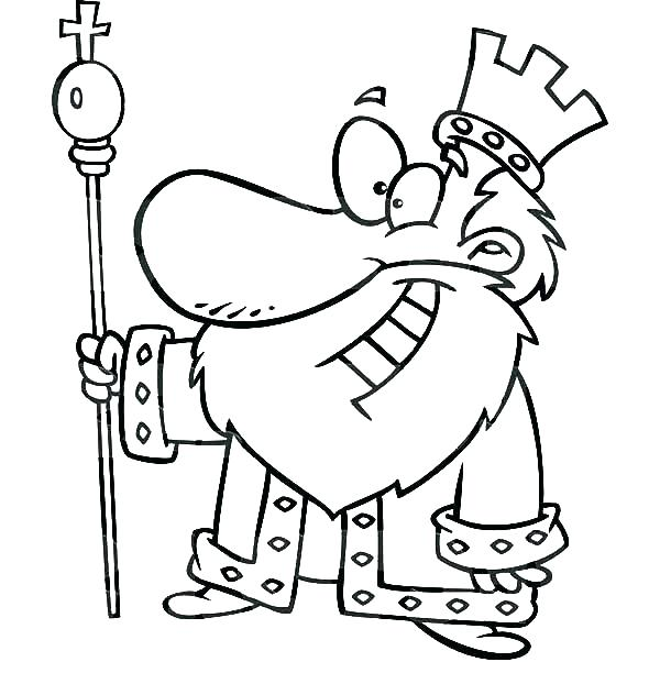 600x612 King Solomon Coloring Pages Deepart