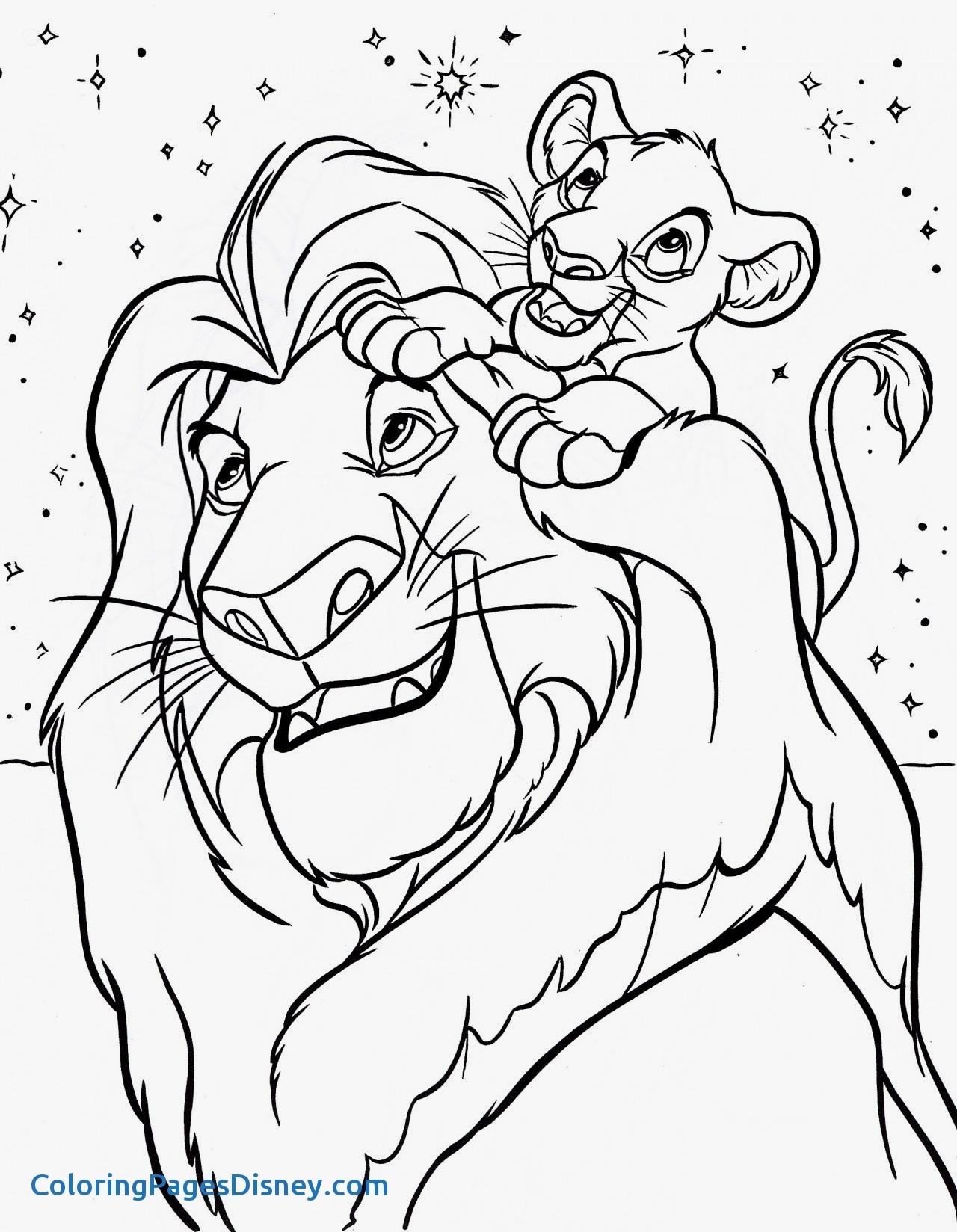 1280x1648 Coloring Pages Lion King Best Of Free Printable Lion King Coloring