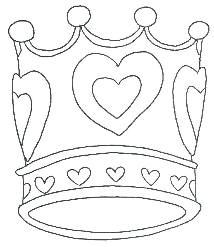 728x839 Crown Colouring Pages Crown Coloring Page King Crown Coloring