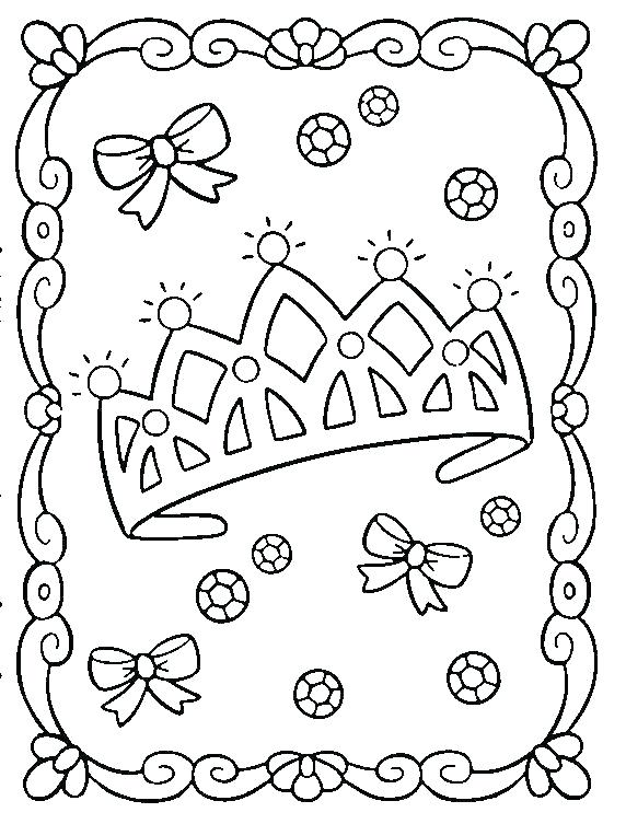 572x753 Crown Coloring Page Crown Pictures To Color Crown Colouring Pages