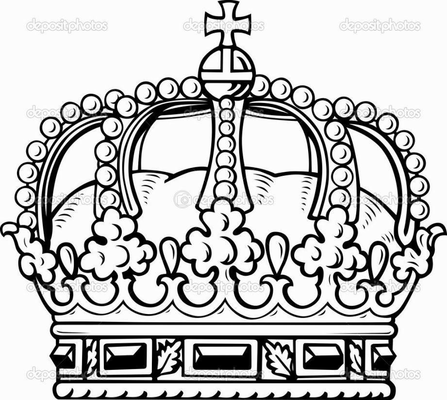 921x824 King Crown Coloring Page Coloring Pages Kings