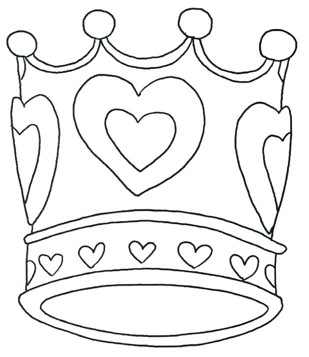 618x712 King Crown Coloring Page Crown Coloring Sheet Crown Coloring Page