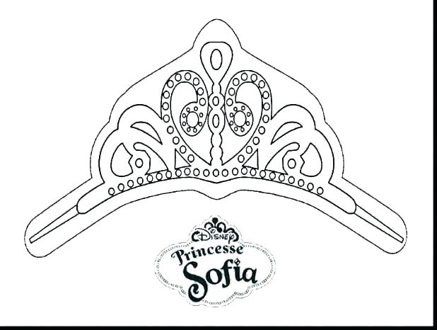 618x466 Princess Crown Coloring Pages Printable Crown Coloring Pages King