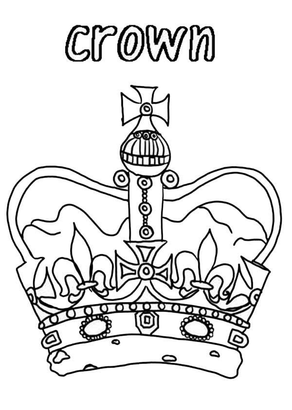 600x844 Tiaras And Crowns Coloring Pages Royal Crown