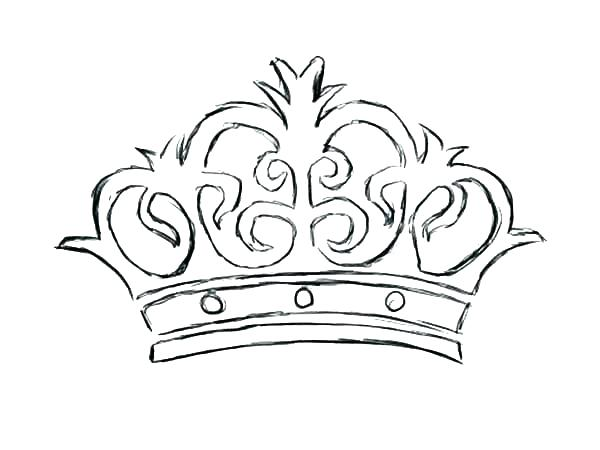 600x450 Crown Coloring Pages Princess Crown Coloring Pages Printable Crown