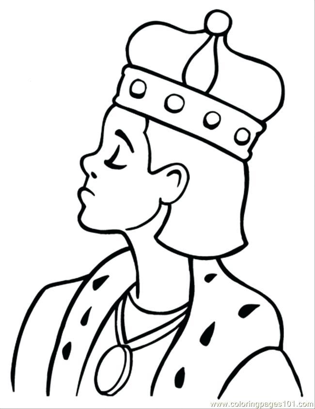 650x842 King Coloring Page King Josiah Coloring Page Free