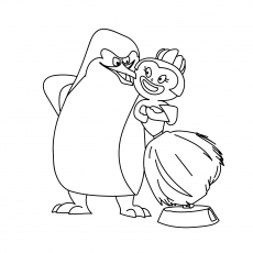 King Julien Coloring Pages