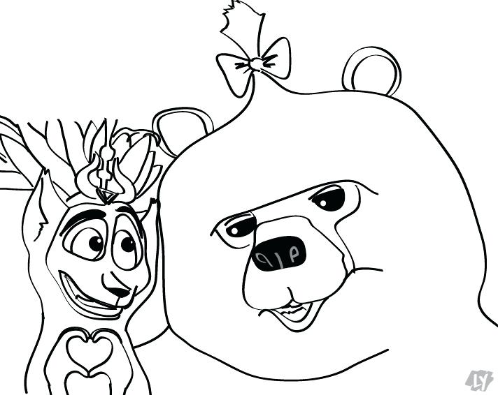 712x566 King Julian Coloring Pages Coloring Pages King Madagascar King