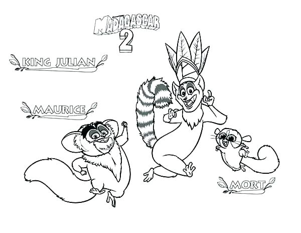 600x464 Lemur Coloring Page Lemur Coloring Page King Coloring Pages