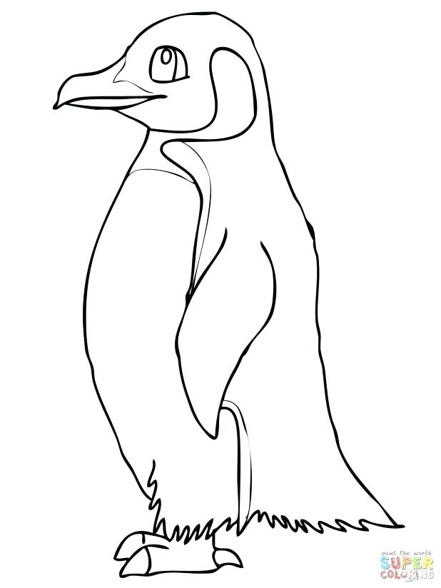 618x824 Emperor Penguin Coloring Page Coloring Pages Penguin Best Of Tacky