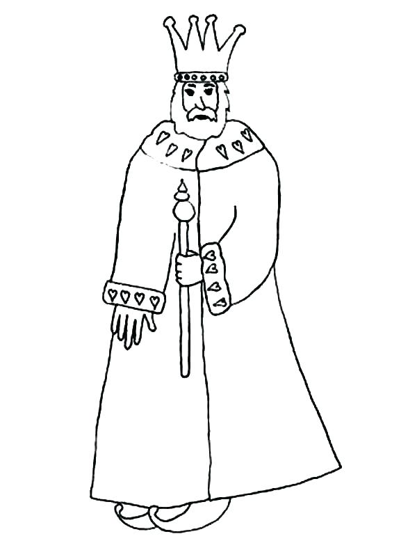 600x777 King Coloring Pages King In Coloring Pages King Wise King Solomon