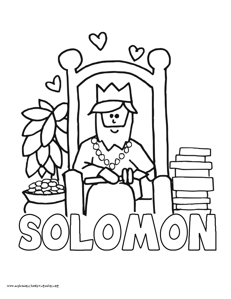 765x990 Solomon Coloring Page Latest King Solomon Coloring Pages Page