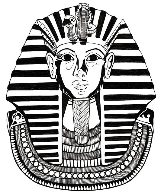 533x650 King Tut Coloring Pages How Did King Tut Die King Tuts Tomb