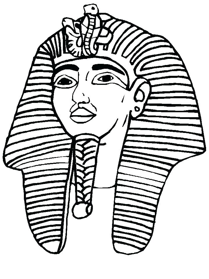 718x957 King Tut Coloring Pages Tut Y King Tuts Tomb Coloring Page