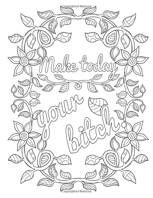 Kinky Coloring Pages