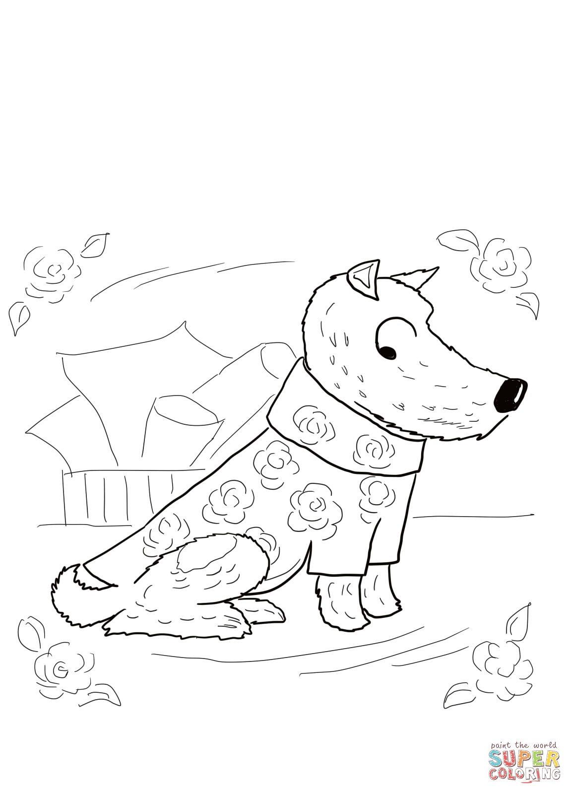 1153x1600 Dirty Coloring Pages Harry The Dog Free Dirty
