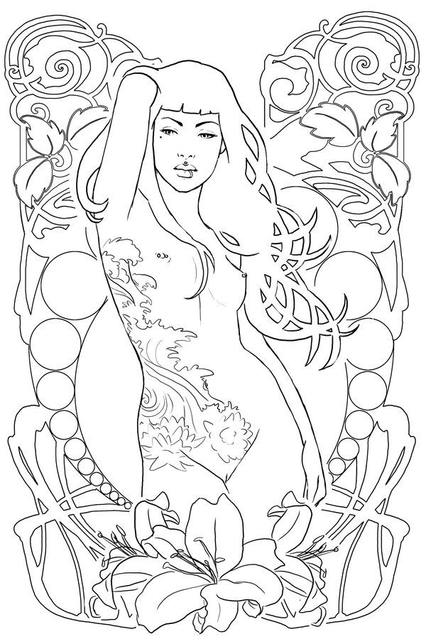 600x900 Kinky Coloring Pages