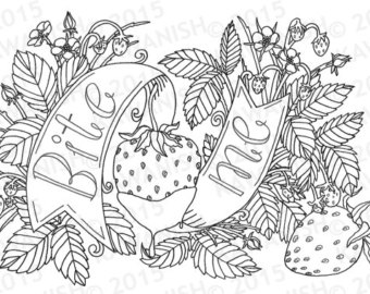 340x270 Naughty Kinky Bdsm Adult Coloring Page Wall Art