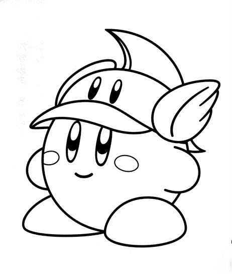 Kirby Coloring Pages At Getdrawings Free Download