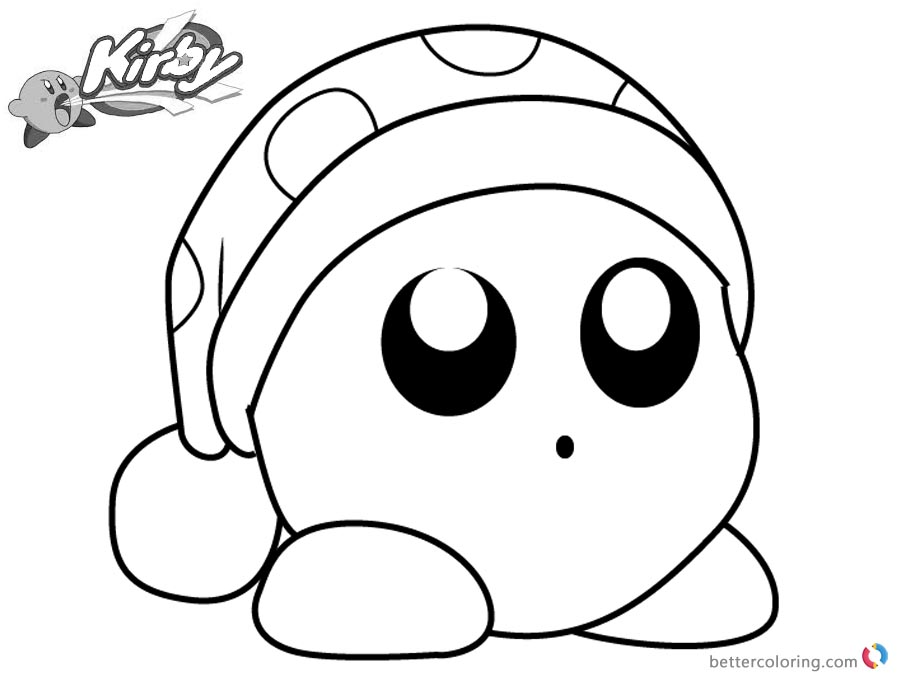 900x680 Kirby Coloring Pages Picture Noddy