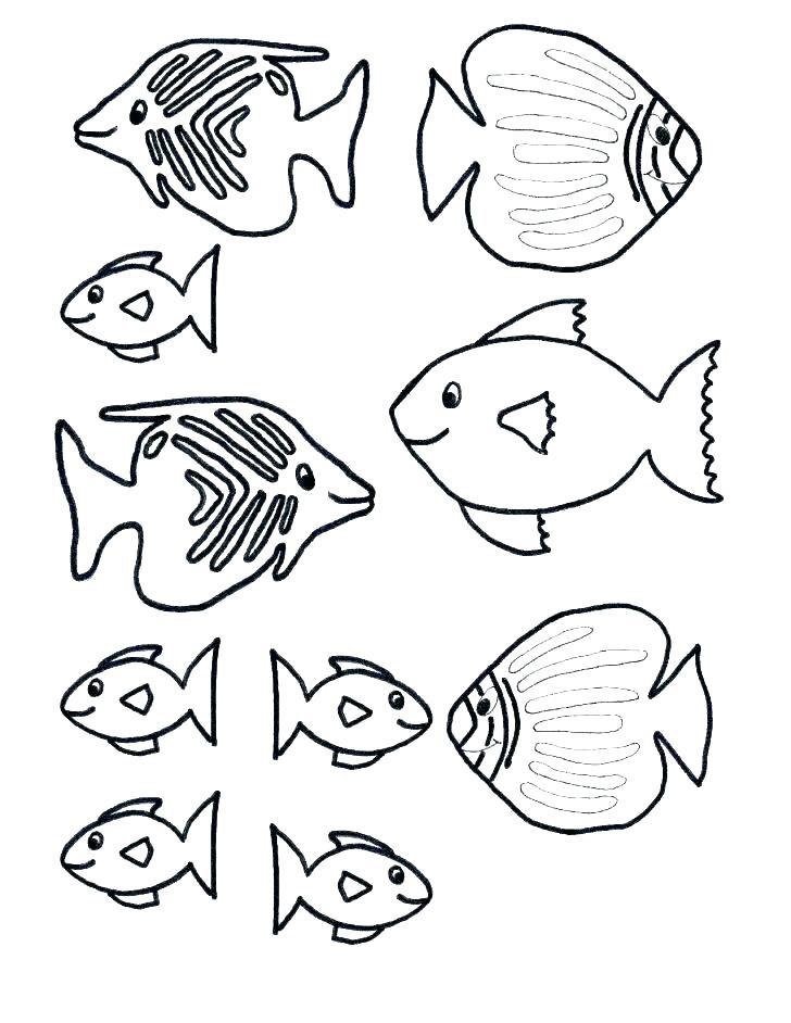 728x942 Coloring Pages Of Fish Fish Wearing A Crown With Kissing Lips