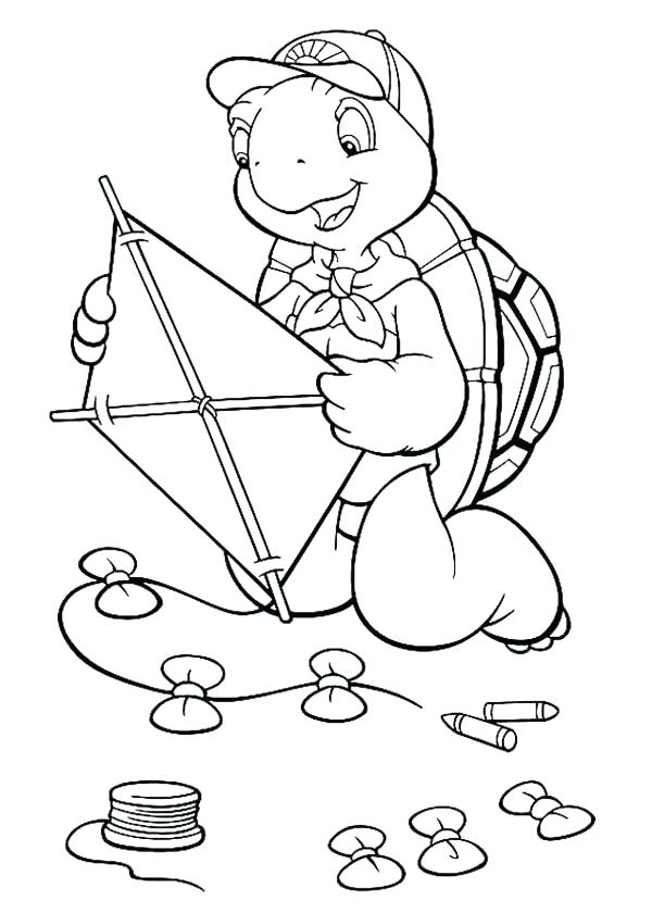 600x840 Kite Coloring Page Coloring Pages Of Kitess The Turtle Make