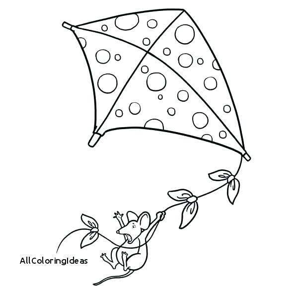600x576 Kites Coloring Pages Kite Coloring Page Coloring Pages Of Kites