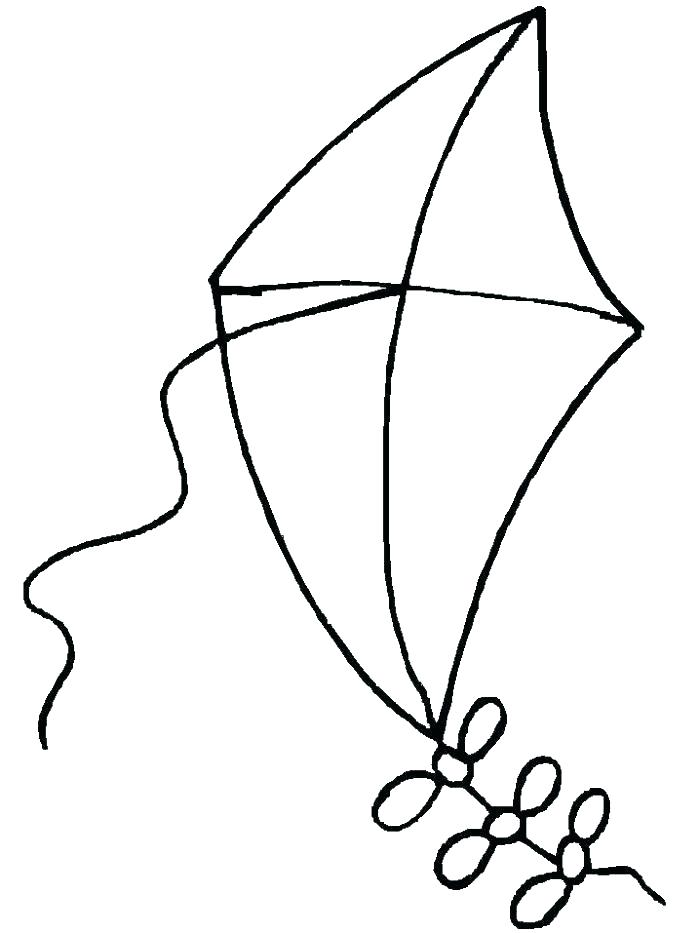 700x933 Kite Coloring Pages