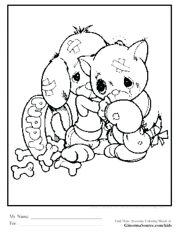 618x800 Printable Kitten Coloring Pages Kitten Coloring Pages Printable