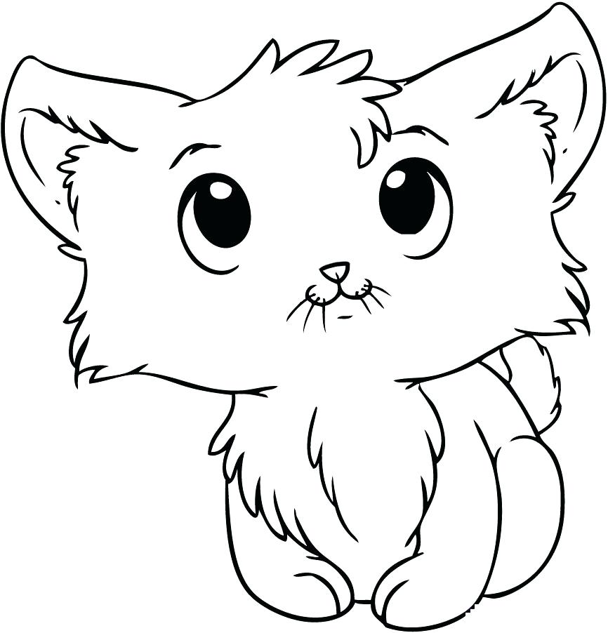 866x902 Cute Kitten Coloring Sheets Kitty Cat Coloring Pages Kitty Cat