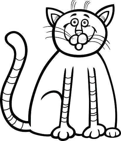 412x480 Printable Kitten Coloring Pages Cute Kitten Coloring Pages Free