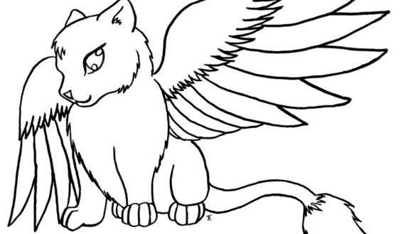 585x329 Kitty Cat Coloring Pages With Kitty Cat Coloring Pages Lapes