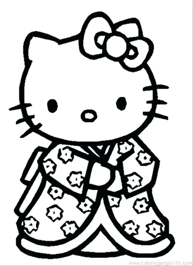 650x899 Kitty Cat Coloring Pages Free Cat Coloring Pages Printable Hello