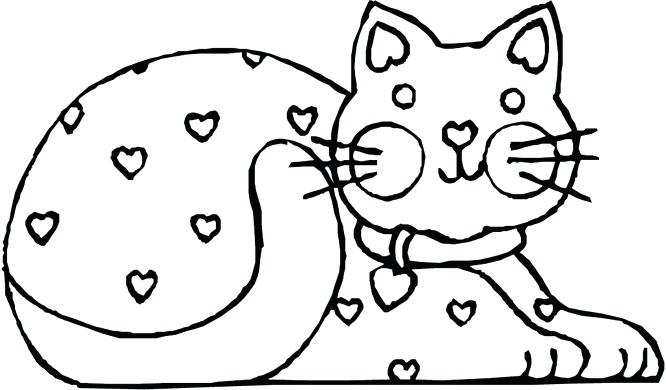 Kitty Cat Coloring Pages At Getdrawings Com Free For Personal Use