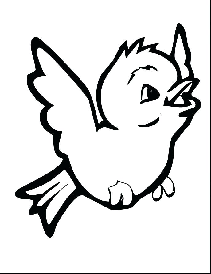 687x889 Realistic Cat Coloring Pages