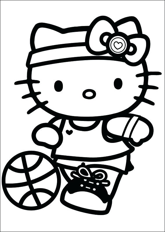 567x794 Hello Kitty Coloring Pages That You Can Print Free Printable Hello