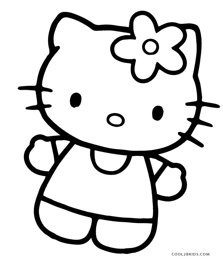 894x1059 Free Printable Hello Kitty Coloring Pages For Pages